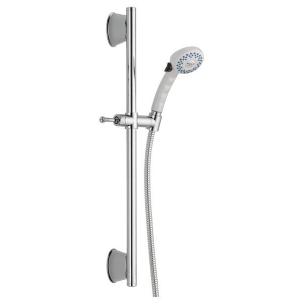 Slide Bar Hand Shower - White