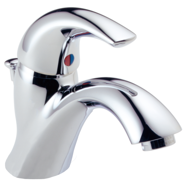 Classic Single Handle Bathroom Faucet - Chrome