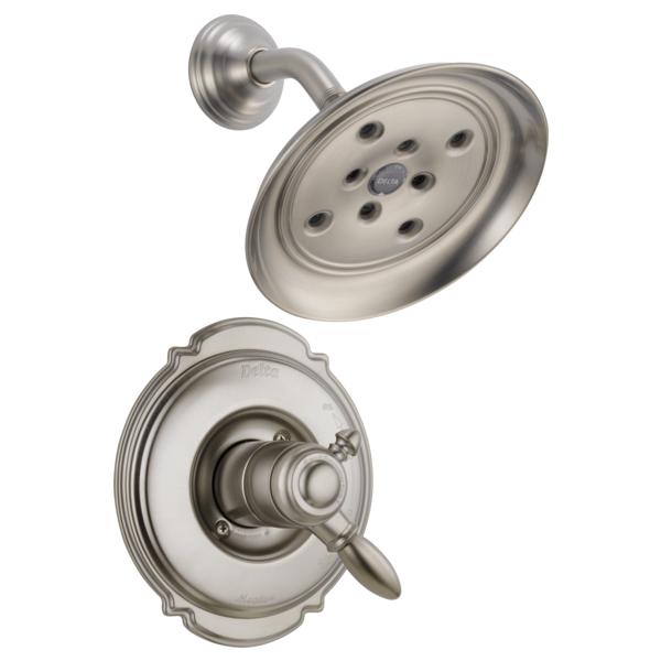 DELTA® T17255-SSH2O Monitor® 17 Shower Trim, 1.75 gpm Shower, Stainless Steel