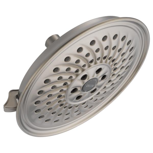 H2Okinetic 3-Setting Raincan Shower Head - Stainless
