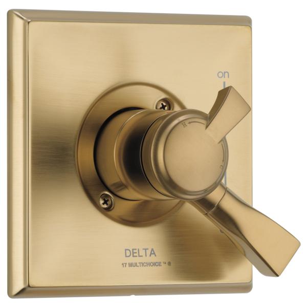 DELTA® T17051-CZ Monitor® 17 Valve Trim, Brilliance® Champagne Bronze