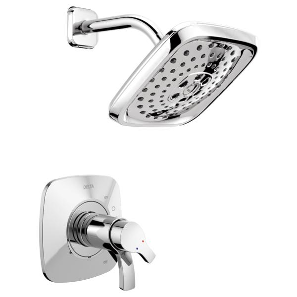 DELTA® T17252 Monitor® 17 Shower Trim, 1.75 gpm Shower, Polished Chrome