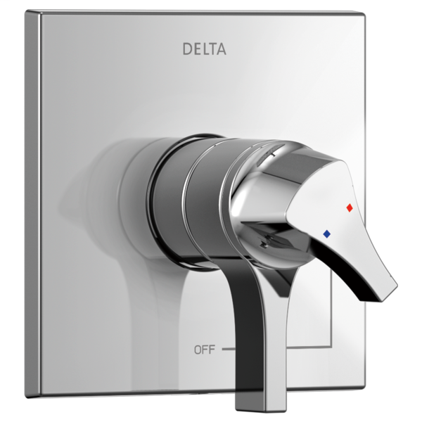DELTA® T17074 Monitor® 17 Valve Trim Only, 2 gpm Shower, Polished Chrome