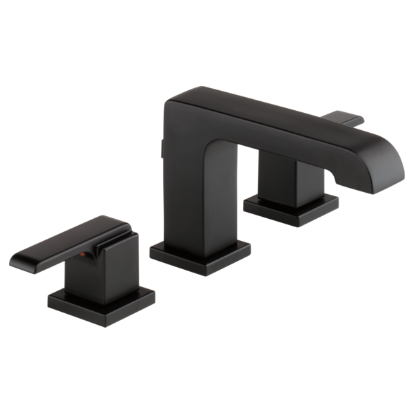Ara Two Handle Widespread Bathroom Faucet - Matte Black