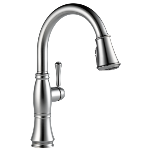 Cassidy Single Handle Pull-Down Kitchen Faucet with ShieldSpray Technology - Arctic Stainless