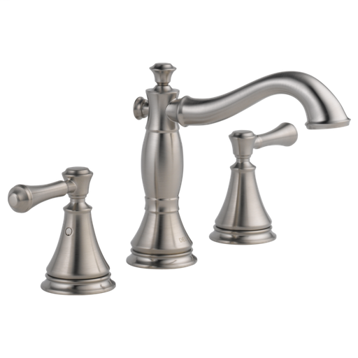 Cassidy Two Handle Widespread Bathroom Faucet - Stainless