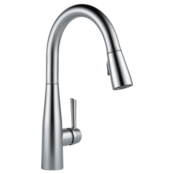 Essa Single Handle Pull-Down Kitchen Faucet - Arctic Stainless