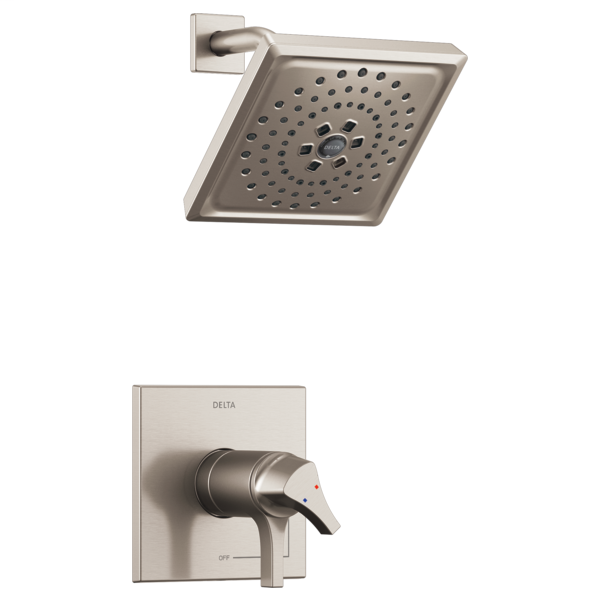 DELTA® T17T274-SS TempAssure® 17T Shower Trim, 1.75 gpm Shower, Stainless Steel