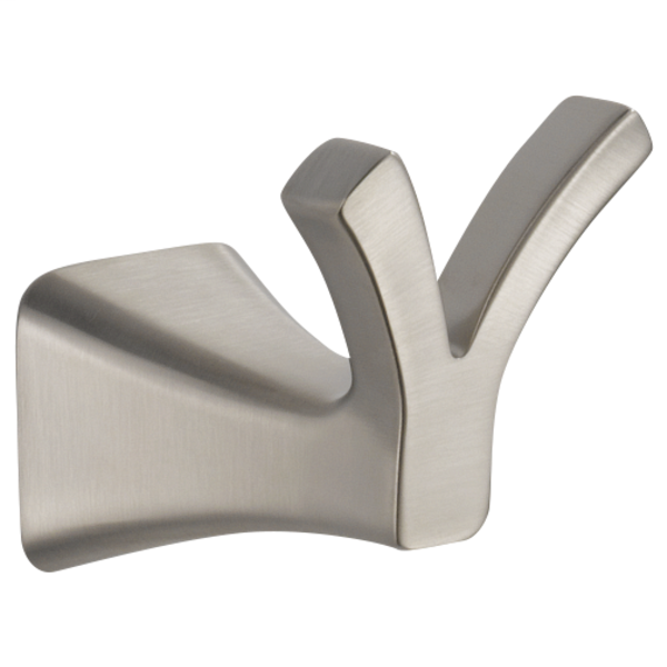Tesla Double Robe Hook - Stainless
