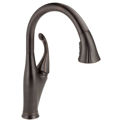 Addison Single Handle Pull-Down Kitchen Faucet with ShieldSpray Technology - Venetian Bronze