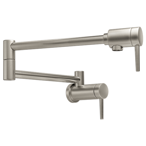 Delta Contemporary Wall Mount Pot Filler - Stainless