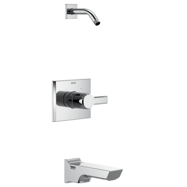 DELTA® T14499-LHD Monitor® 14 Tub and Shower Trim, Polished Chrome