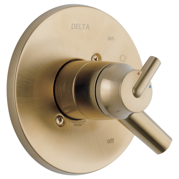DELTA® T17059-CZ Monitor® 17 Valve Trim, 2 gpm Shower, Brilliance® Champagne Bronze