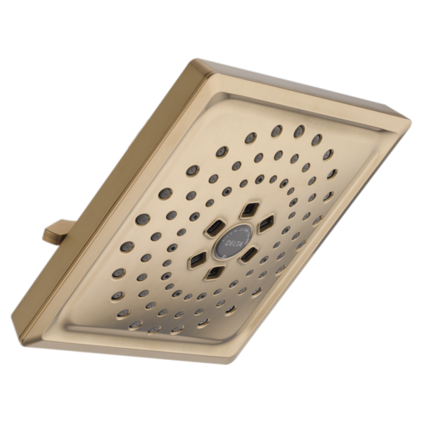 H2Okinetic 3-Setting Raincan Shower Head - Champagne Bronze