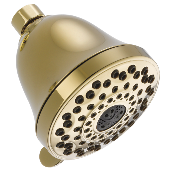 Premium 7-Setting Shower Head - Polished Brass