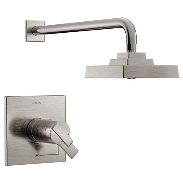 DELTA® T17T267-SS TempAssure® 17T Shower Trim, 1.75 gpm Shower, Stainless Steel