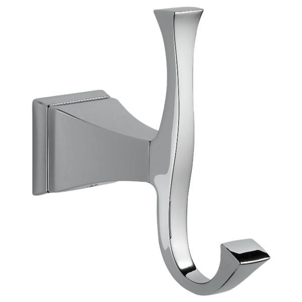 Dryden Double Robe Hook - Chrome