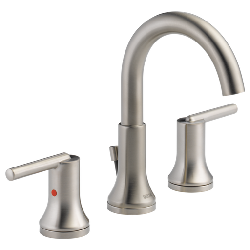 Trinsic Two Handle Widespread Bathroom Faucet - Stainless