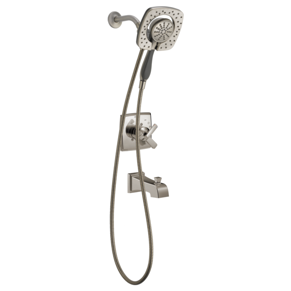 DELTA® T17464-SS-I Monitor® 17 Shower Trim, 1.75 gpm Shower, Stainless Steel