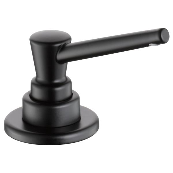 Signature Soap / Lotion Dispenser - Matte Black