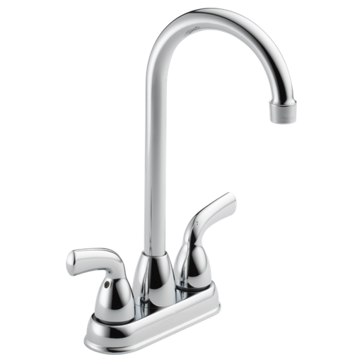 Foundations Two Handle Bar / Prep Faucet - Chrome