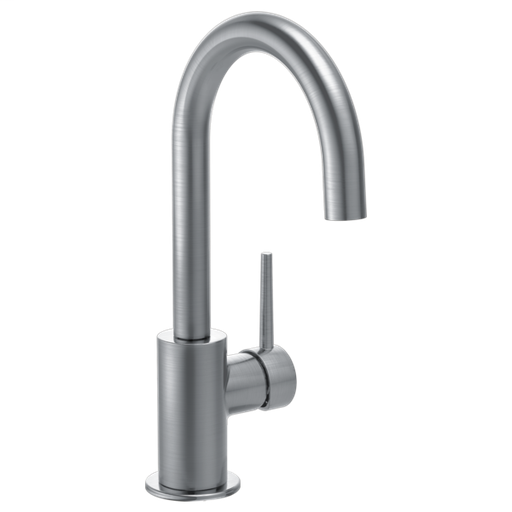 Contemporary Single Handle Bar Faucet - Arctic Stainless