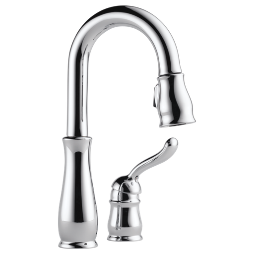 Leland Single Handle Pull-Down Bar / Prep Faucet - Chrome