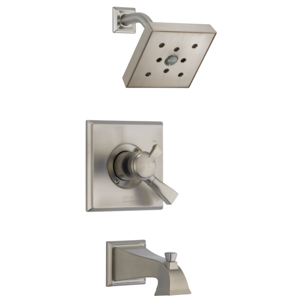 DELTA® T17451-SSH2O Monitor® 17 Tub and Shower Trim, 1.75 gpm Shower, Stainless Steel