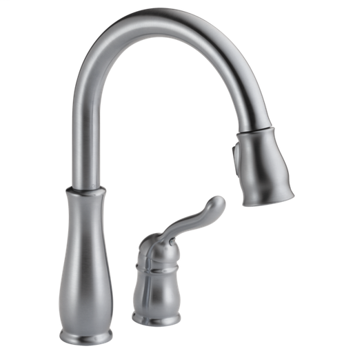 Leland Single Handle Pull-Down Kitchen Faucet - Arctic Stainless