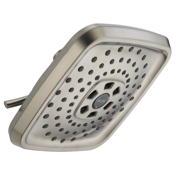 H2Okinetic 3-Setting Raincan Shower Head - Stainless