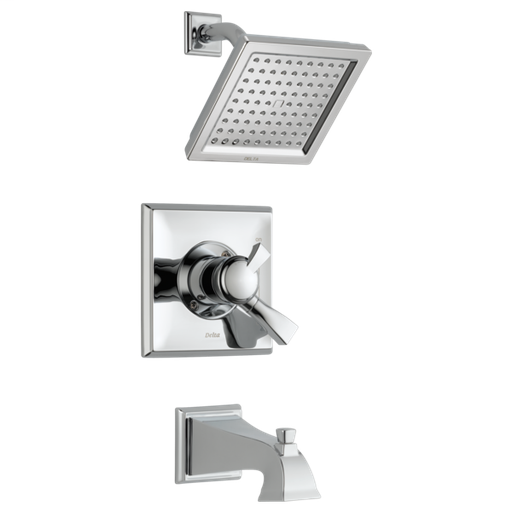 Dryden Monitor 17 Series Tub & Shower Trim - Chrome