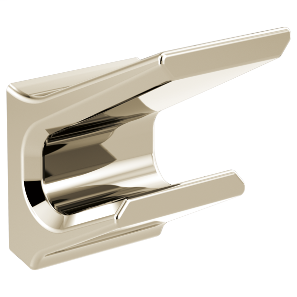 Pivotal Double Robe Hook - Polished Nickel