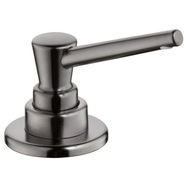 Delta Soap / Lotion Dispenser - Black Stainless