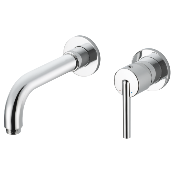 DELTA® T3559LF-WL Lavatory Faucet Trim, Trinsic®, Commercial, 1.2 gpm Flow Rate, 4 to 8 in Center, Polished Chrome, 1 Handles, Pop-Up Drain, Function: Traditional