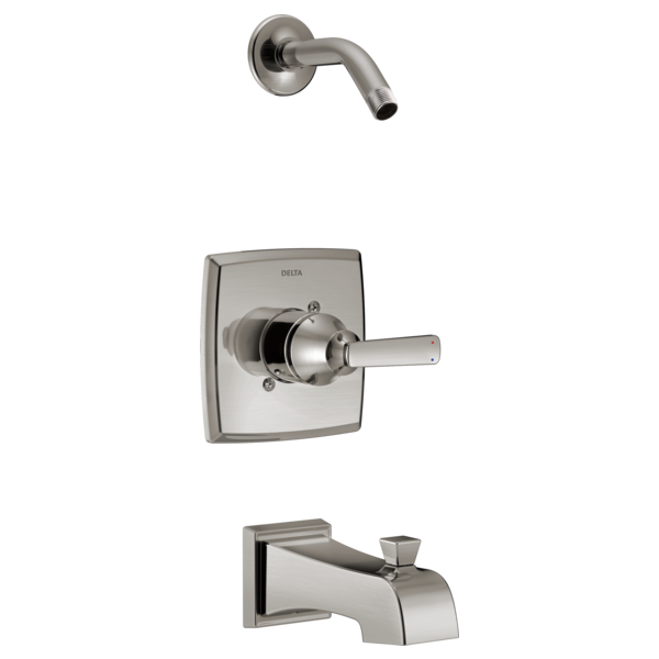 DELTA® T14464-SSLHD Monitor® 14 Tub and Shower Trim, Stainless Steel