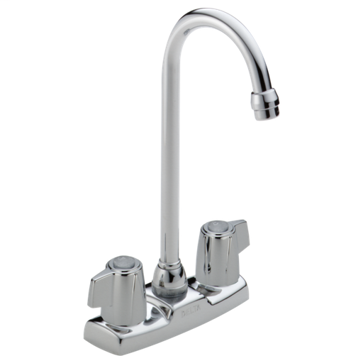 Classic Two Handle Bar / Prep Faucet - Chrome