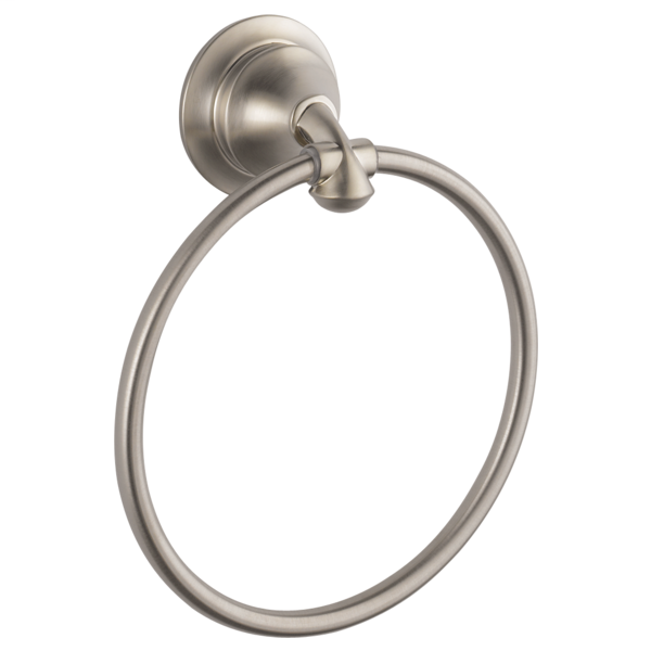 Linden Towel Ring - Stainless