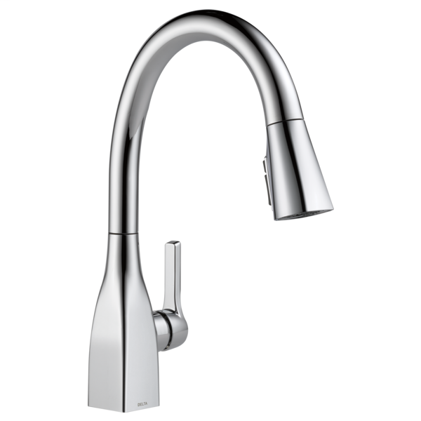 Mateo Single Handle Pull-Down Kitchen Faucet with ShieldSpray Technology - Chrome