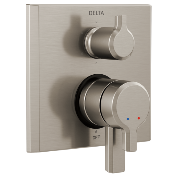 DELTA® T27999-SS Monitor® 17 Valve Trim With 6-Setting Diverter, Stainless Steel