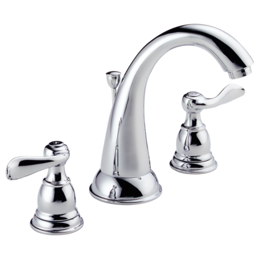 Windemere Two Handle Widespread Bathroom Faucet - Chrome