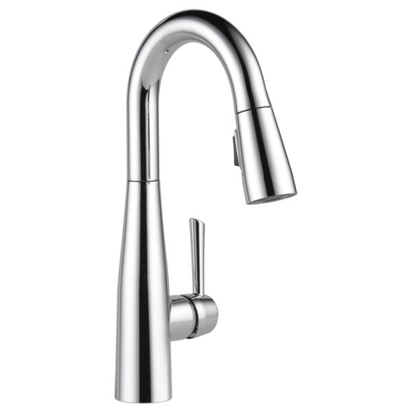 Essa Single Handle Pull-Down Bar / Prep Faucet - Chrome