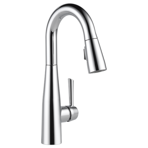 Essa Single Handle Pull-Down Bar / Prep Faucet - Chrome