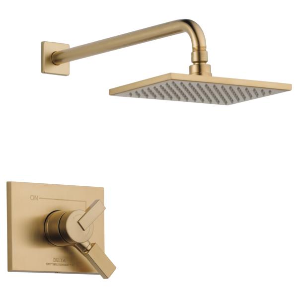 DELTA® T17253-CZ-WE Monitor® 17 Shower Trim, 1.75 gpm Shower, Brilliance® Champagne Bronze