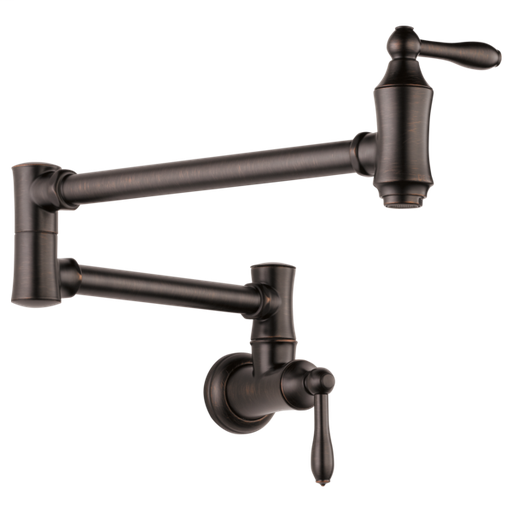 Delta Traditional Wall Mount Pot Filler - Venetian Bronze