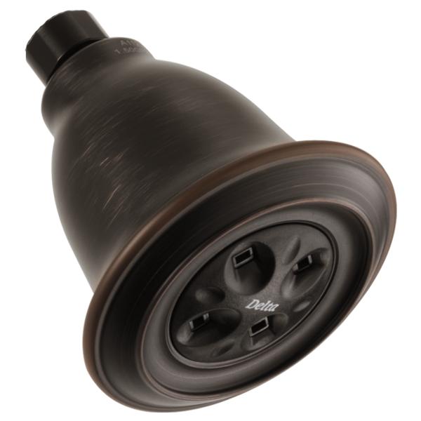 H2Okinetic Single-Setting Raincan Shower Head - Venetian Bronze