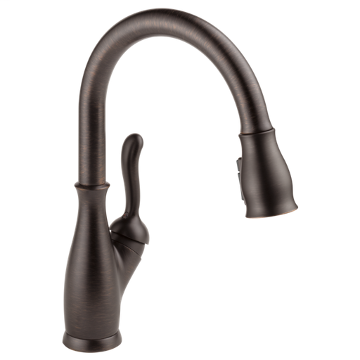Leland Single Handle Pull-Down Kitchen Faucet with ShieldSpray Technology - Venetian Bronze