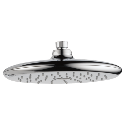 Single-Setting Raincan Shower Head - Chrome