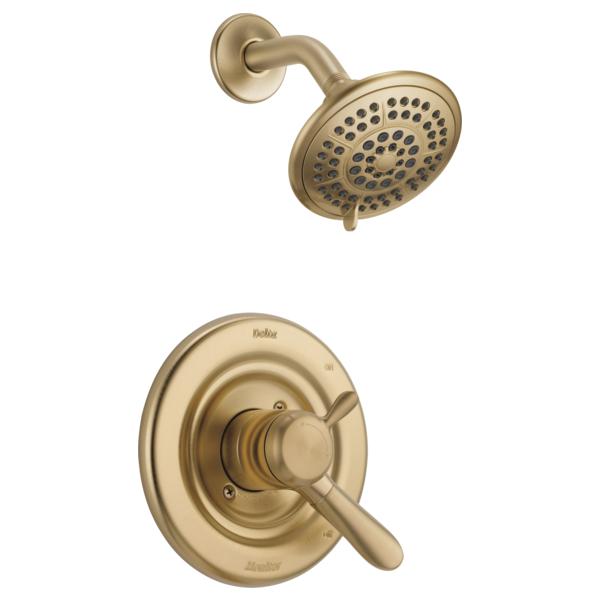 DELTA® T17238-CZ Monitor® 17 Shower Trim, 1.75 gpm Shower, Brilliance® Champagne Bronze
