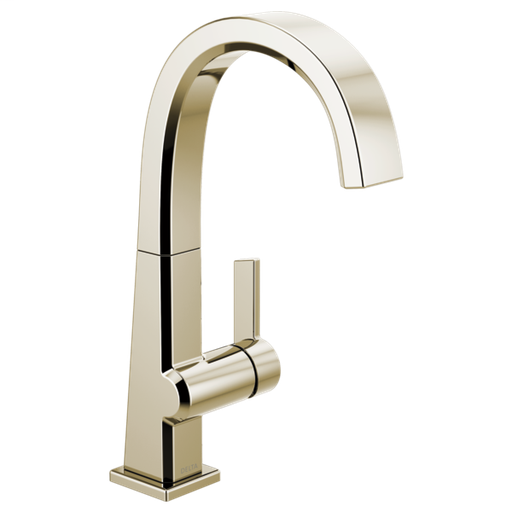 Pivotal Single Handle Bar Faucet - Polished Nickel