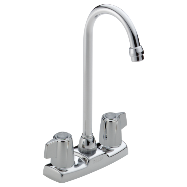 Classic Two Handle Bar / Prep Faucet - Chrome